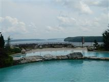 Luxury real estate Flat waterfront lot in the preserve