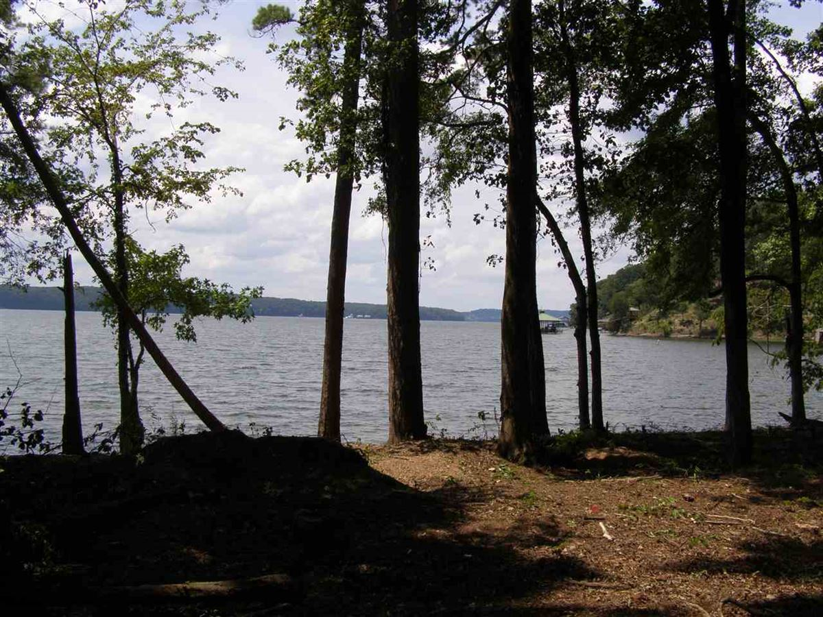 Luxury properties one of the best flat lake lots on Pickwick Lake