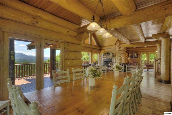 Gorgeous mountain views in gatlinburg luxury properties