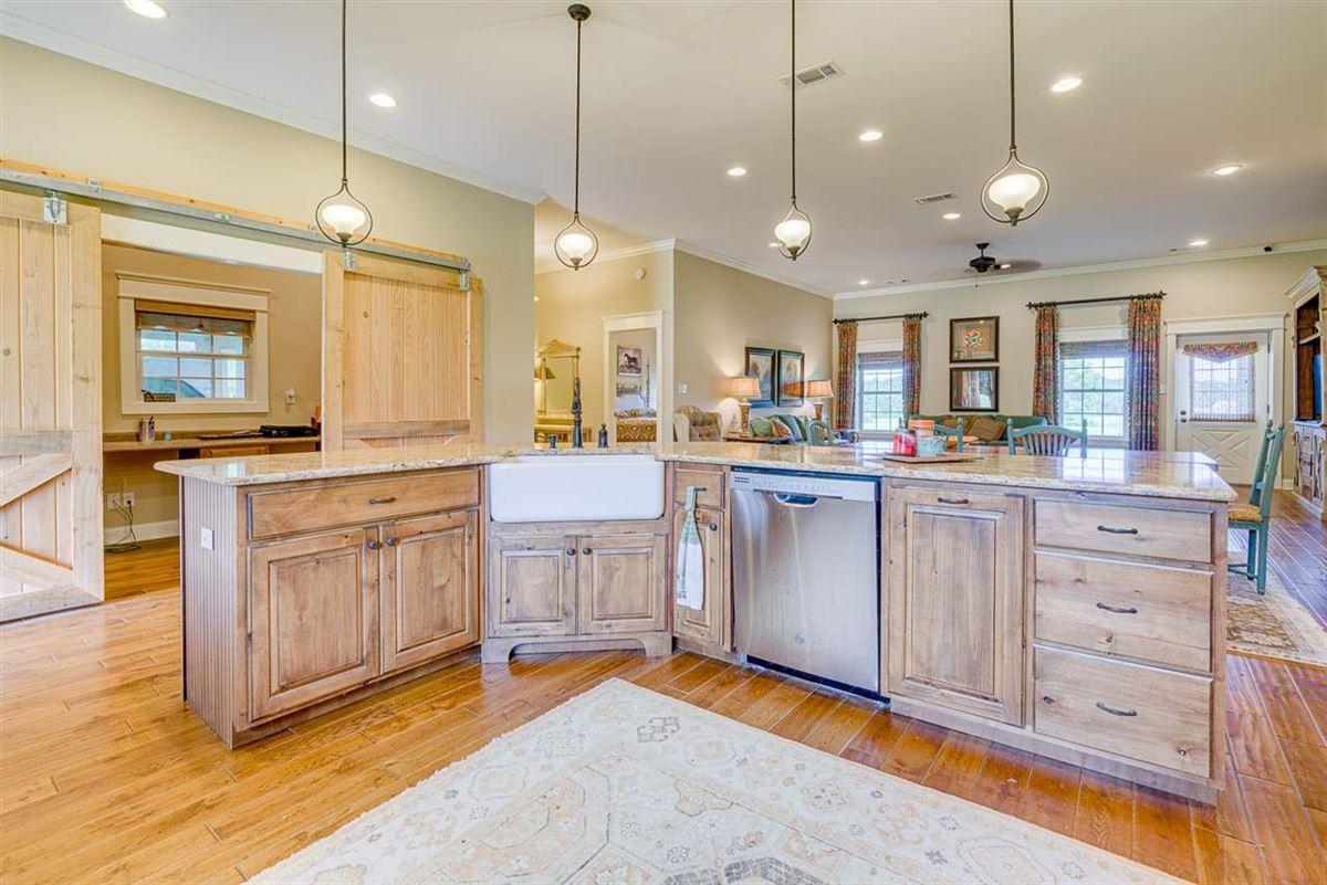 Fabulous custom built equestrian home on 38 acres luxury homes