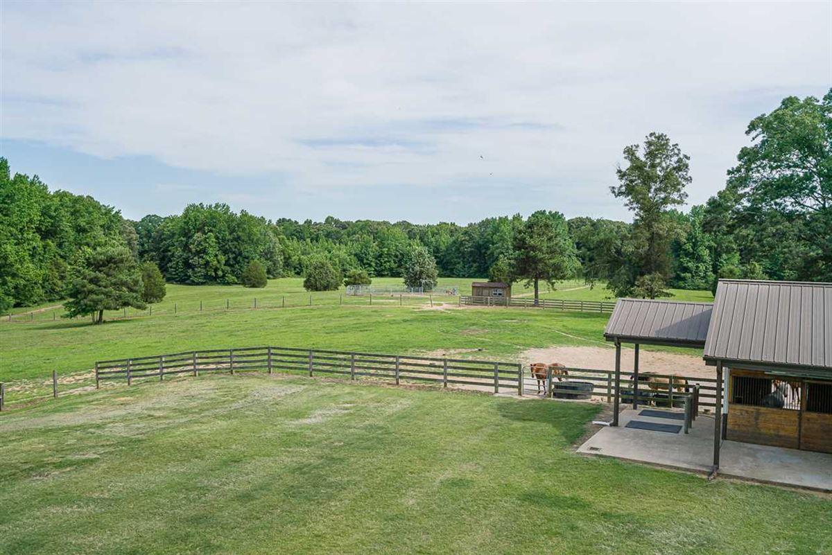 Fabulous custom built equestrian home on 38 acres luxury properties