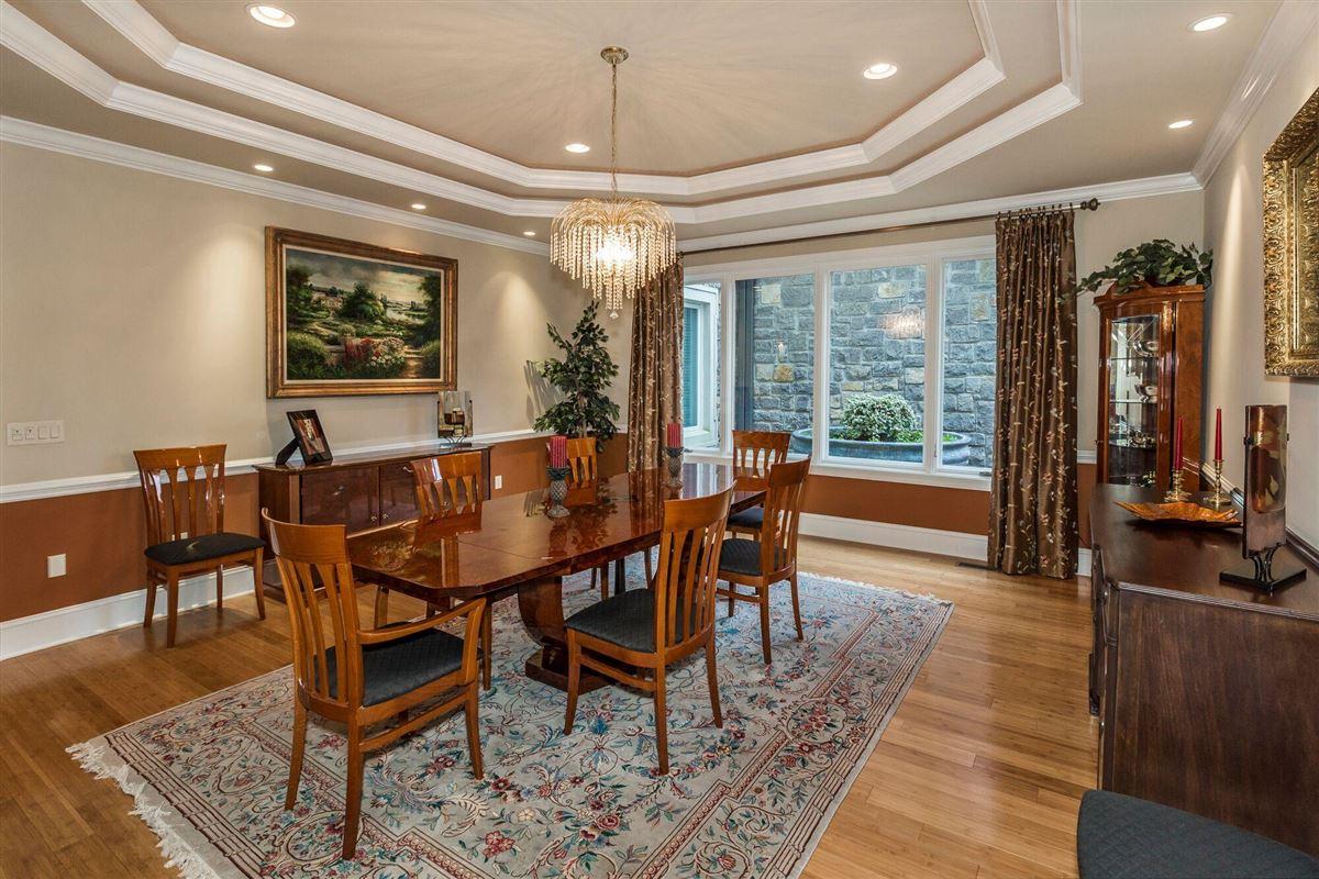 Panoramic lake and mountain views luxury real estate