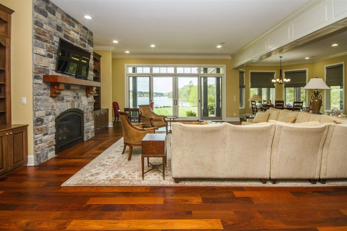 Perfect Lakefront Home luxury real estate
