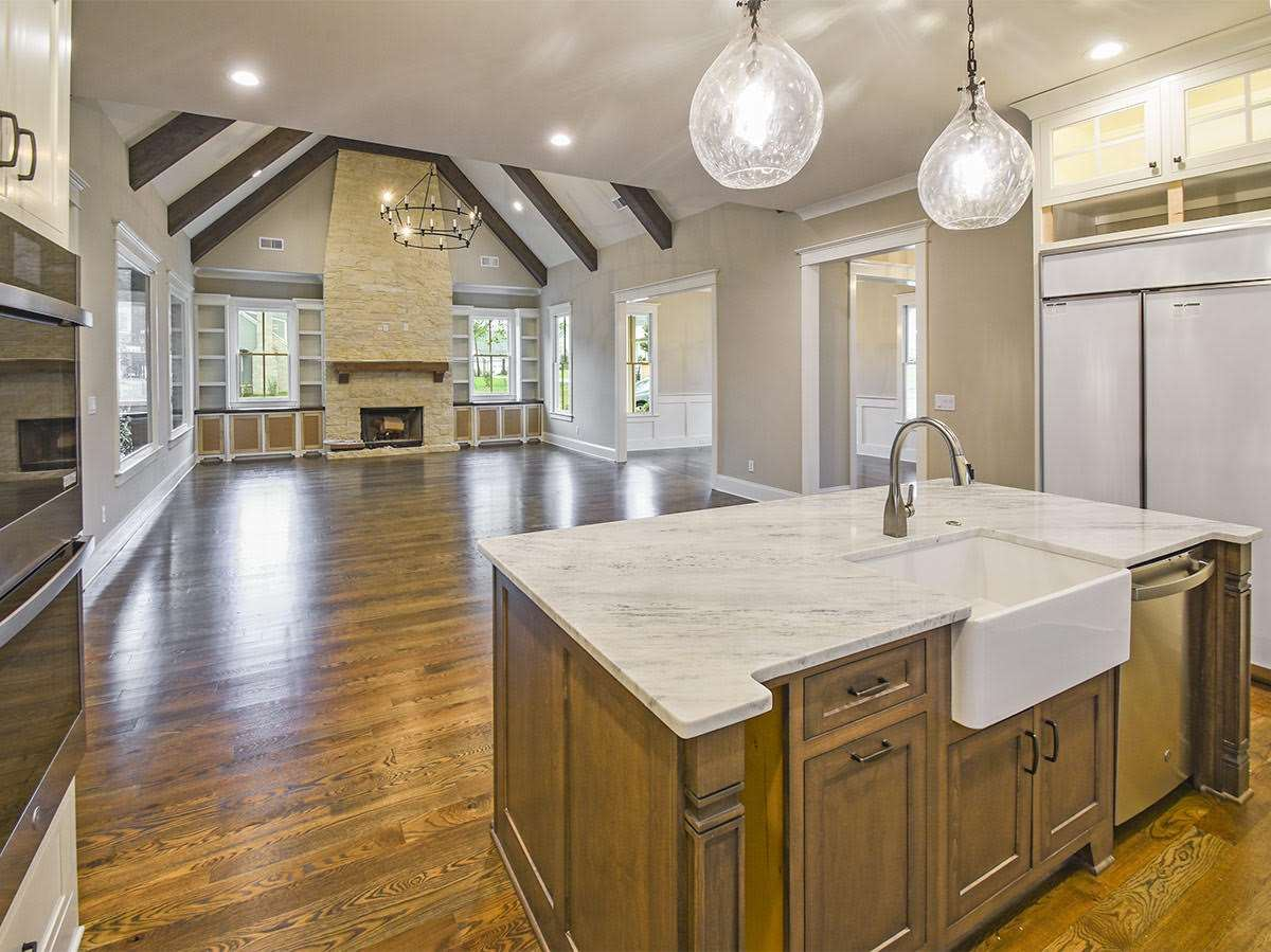 Luxury real estate Charming new construction in Collierville