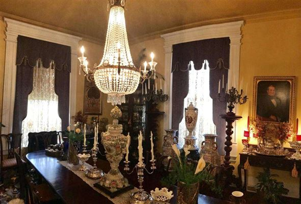 Luxury homes A beautiful Greek Revival antebellum mansion