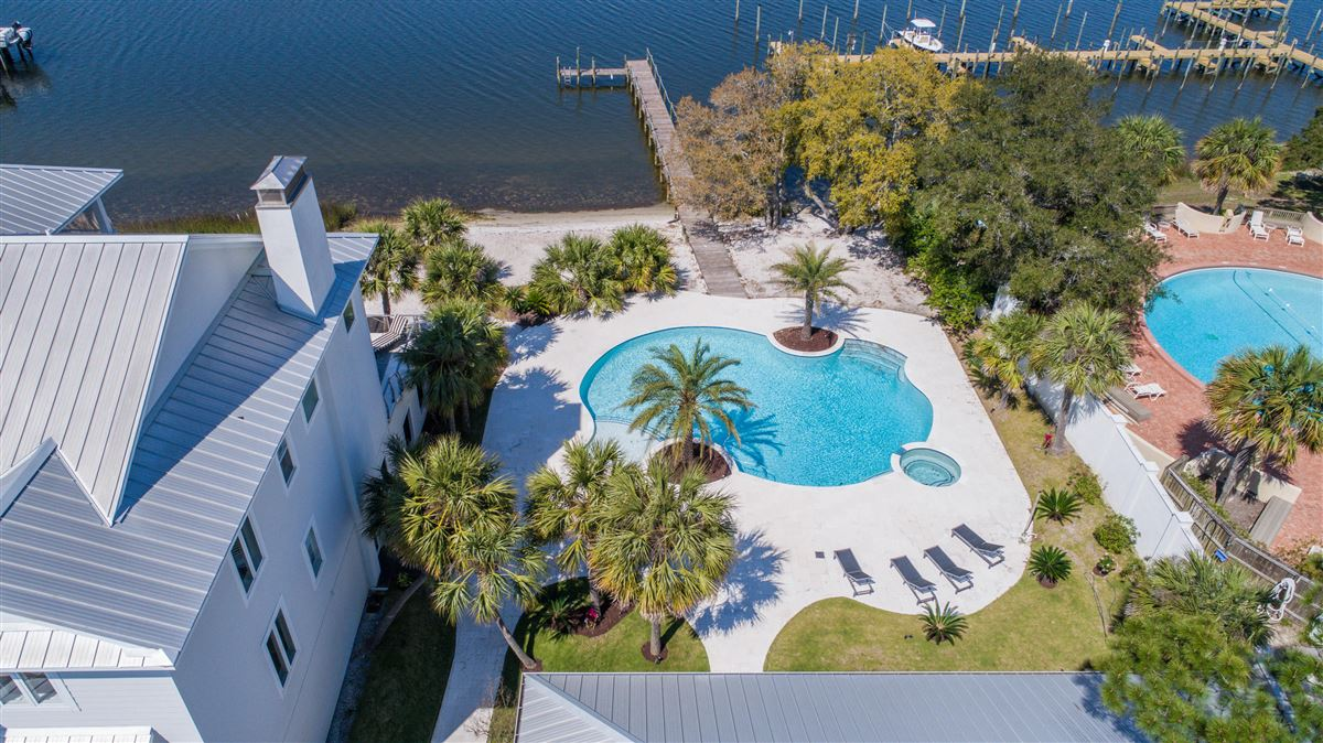 Luxury homes private gated waterfront estate