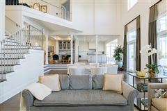 Luxury homes in private gated waterfront estate