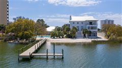 Luxury real estate private gated waterfront estate