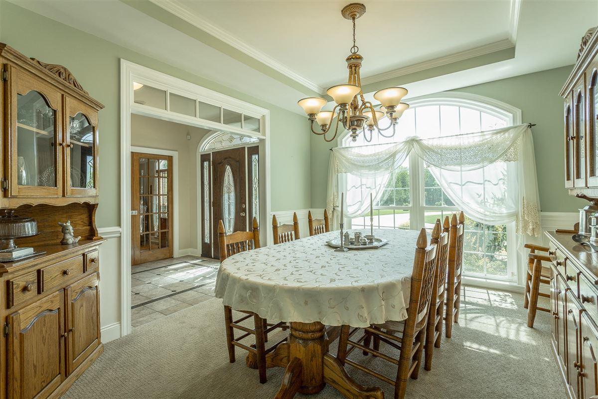 Luxury homes Elegant riverfront estate