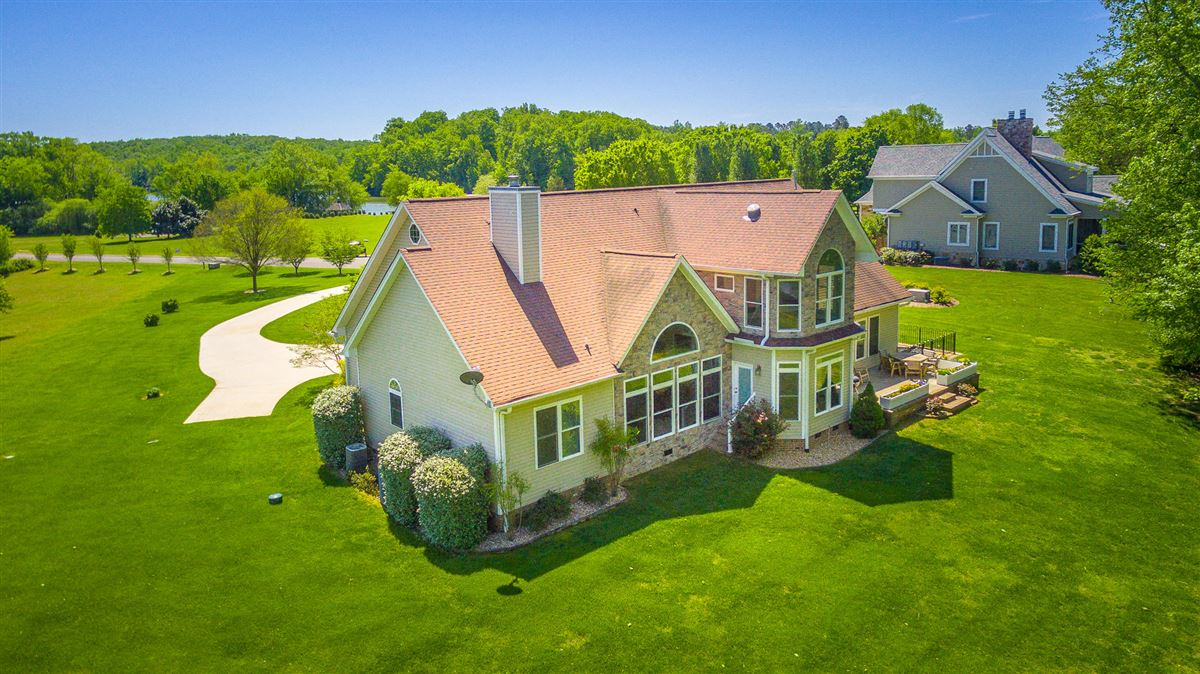 Luxury real estate Elegant riverfront estate