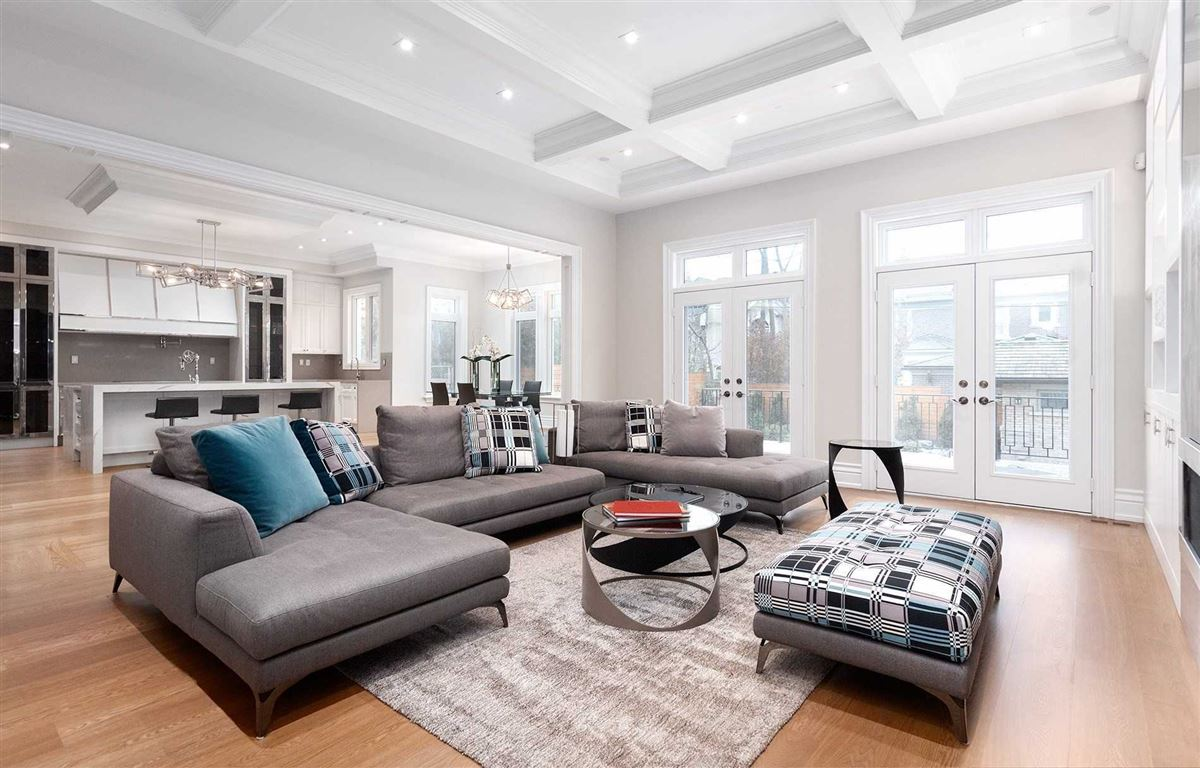 Luxury real estate elegant custom built home with impeccable finishes