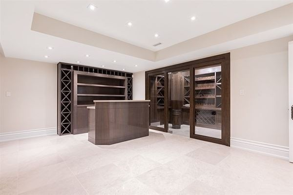 Luxury homes in elegant custom built home with impeccable finishes