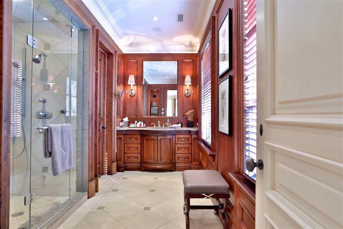 Luxury real estate Awe-inspiring estate on desired road