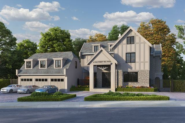 Stunning Forest Hill Home In Impressive Location