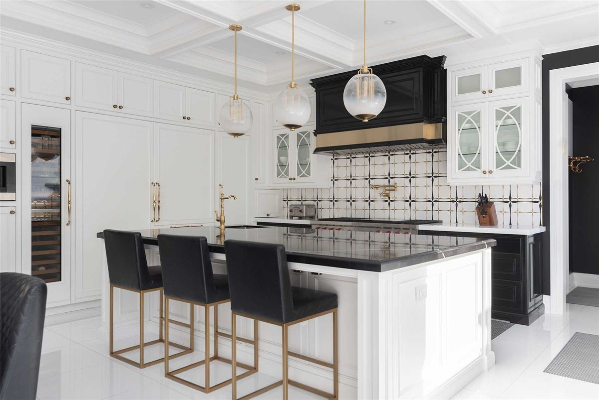 Distinctly Elegant residence in Prized Caribou Park luxury homes