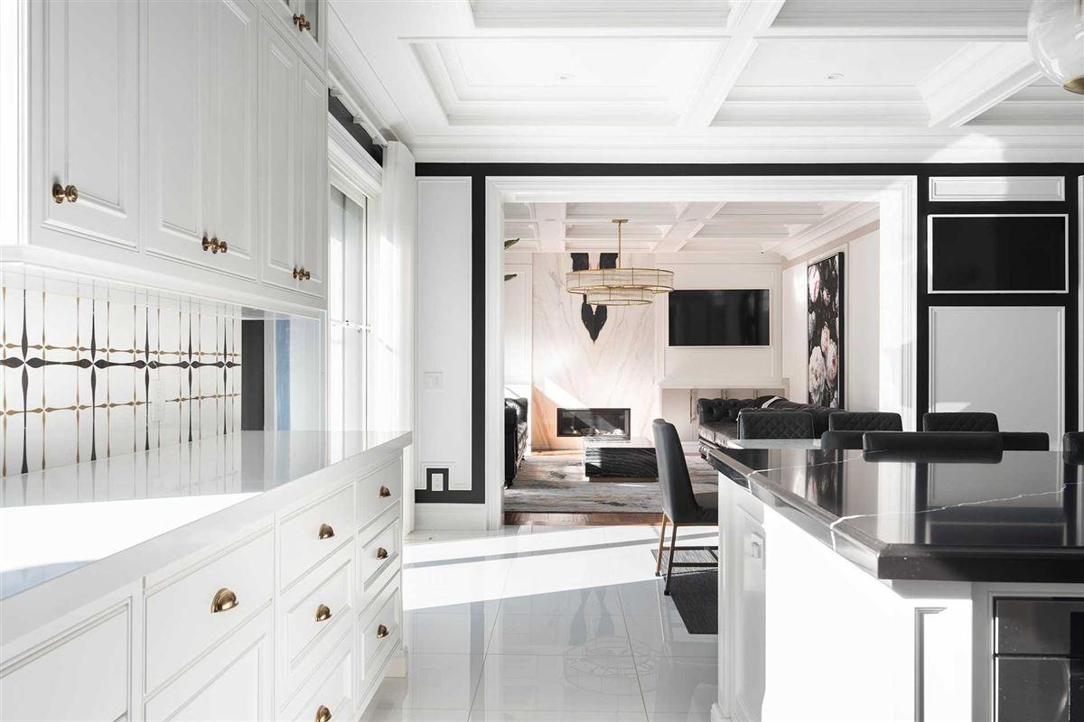 Distinctly Elegant residence in Prized Caribou Park luxury real estate