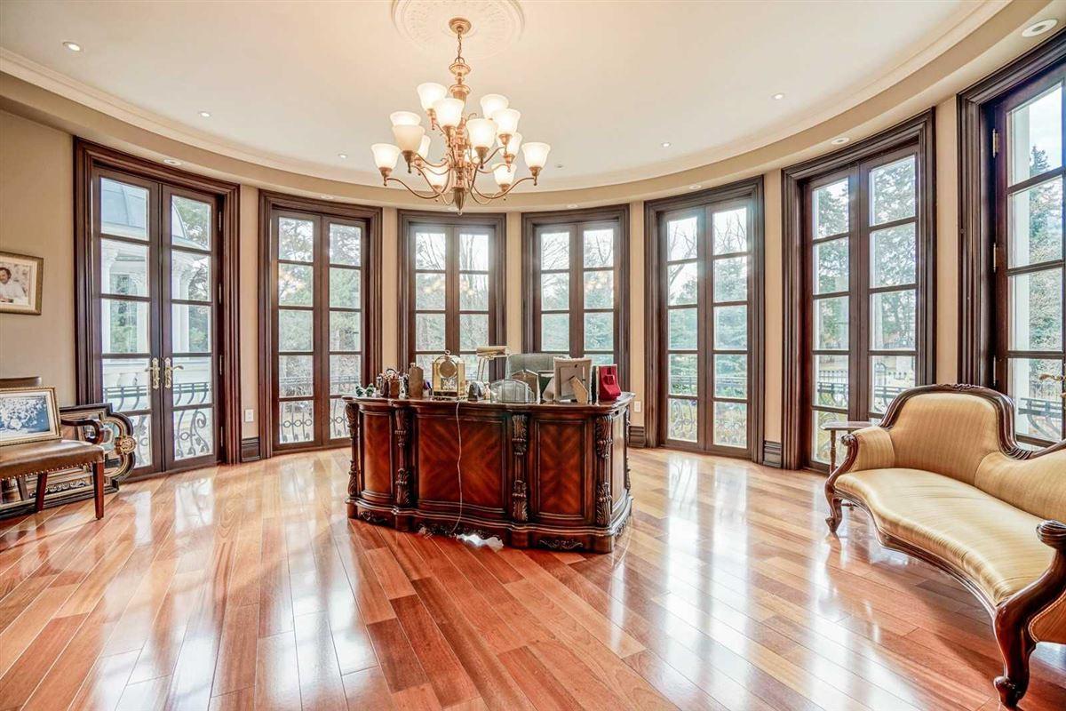Luxury real estate estate mansion in prestigious location