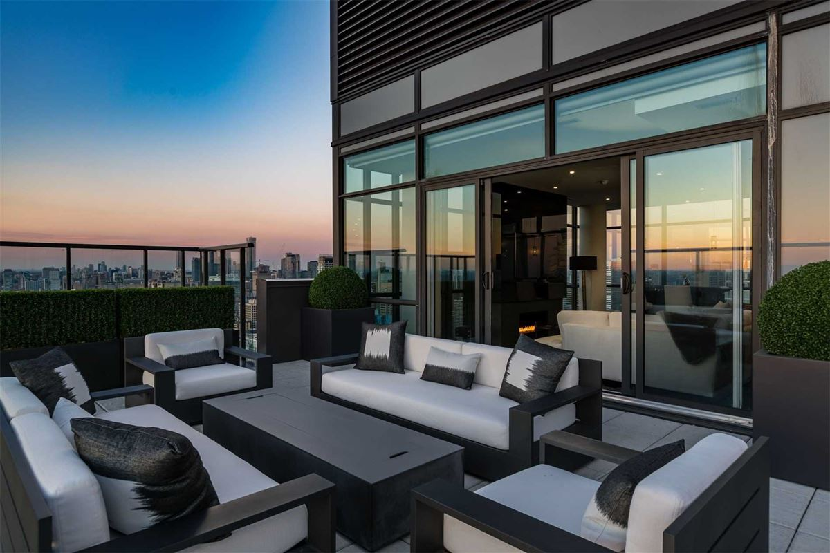Luxury real estate penthouse in the heart of it all