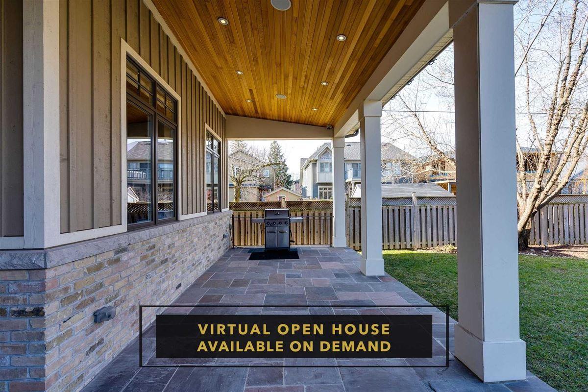 Hamptons-inspired custom residence in Port Credit luxury homes