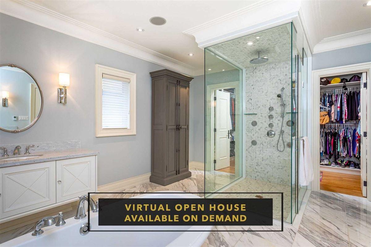 Luxury homes in Hamptons-inspired custom residence in Port Credit