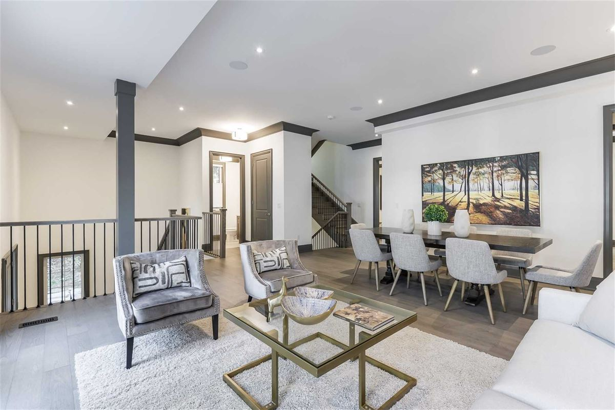 Luxury real estate upgraded townhome on a treed lot