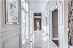 Luxury properties elegant home on exclusive waterfront