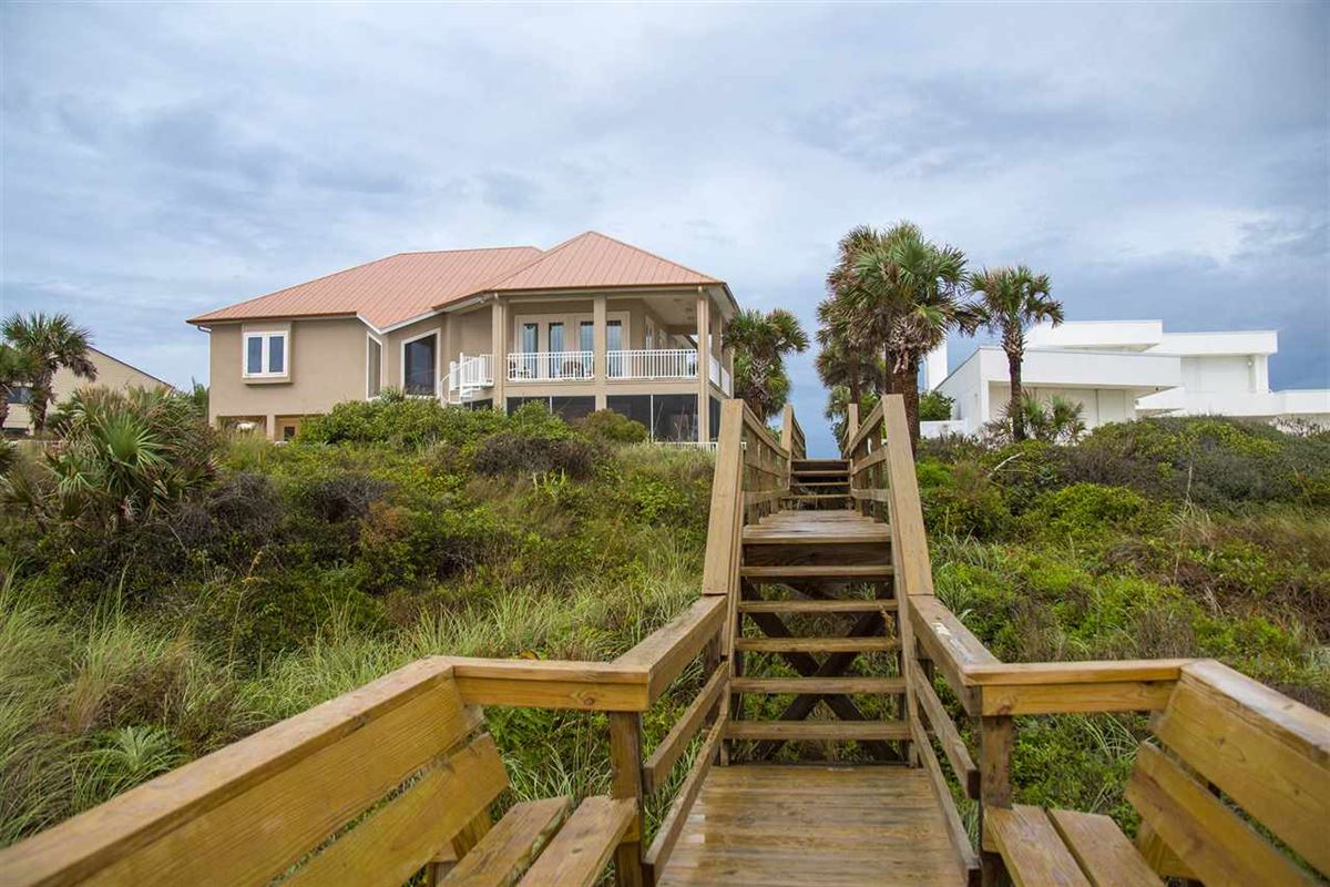 Spectacular oceanfront pool home on Crescent Beach luxury homes