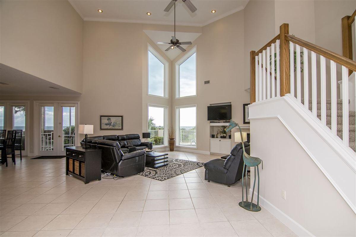 Luxury properties Spectacular oceanfront pool home on Crescent Beach