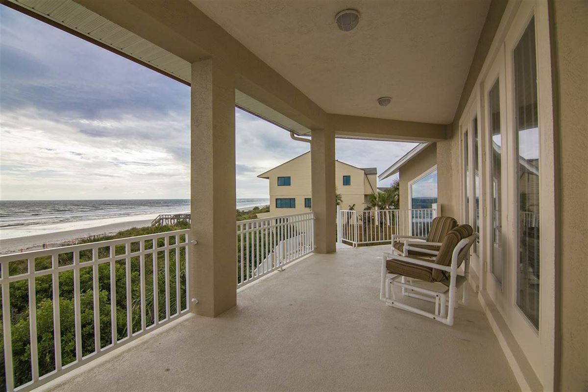 Spectacular oceanfront pool home on Crescent Beach luxury real estate