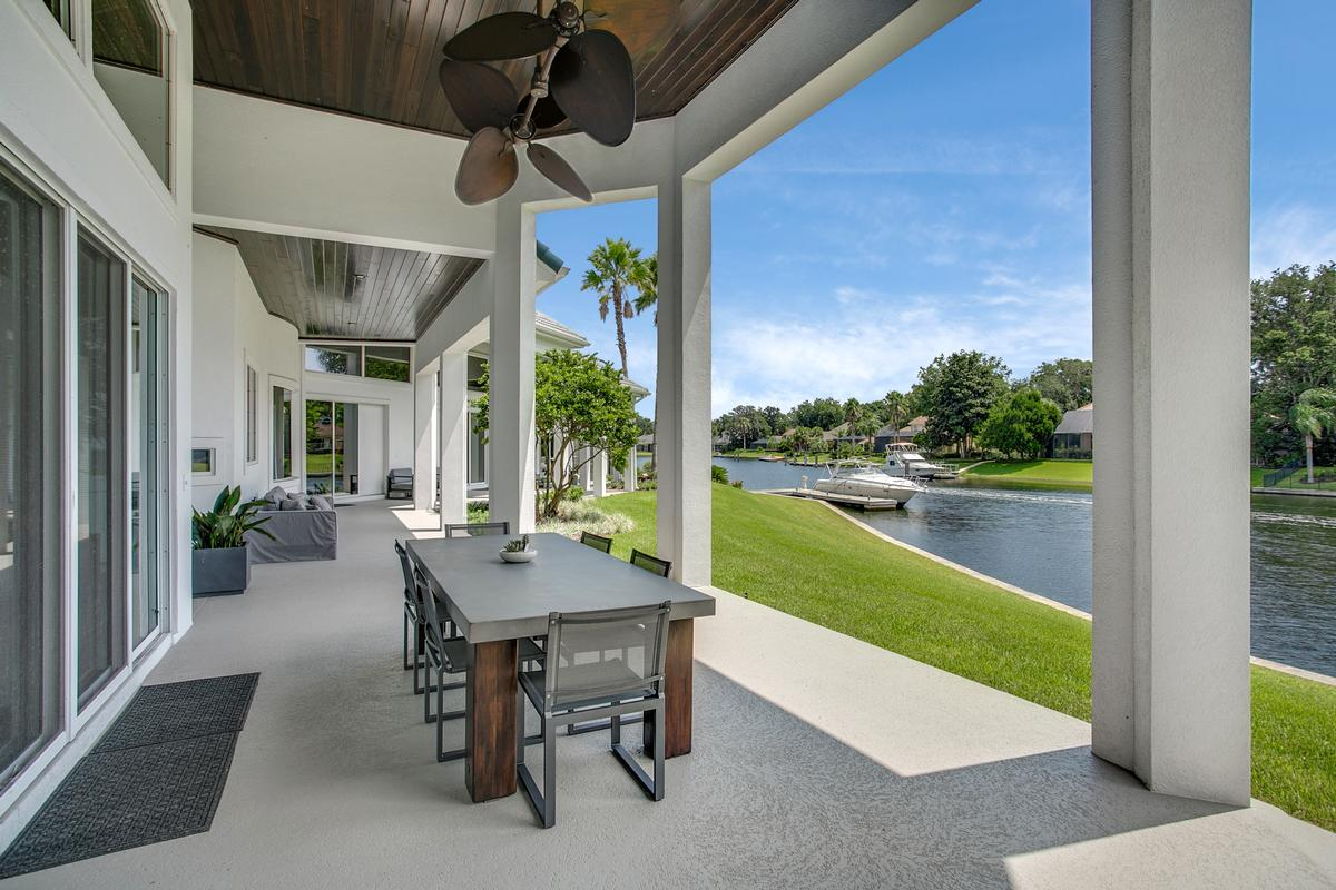 Exquisite navigable waterfront property luxury real estate