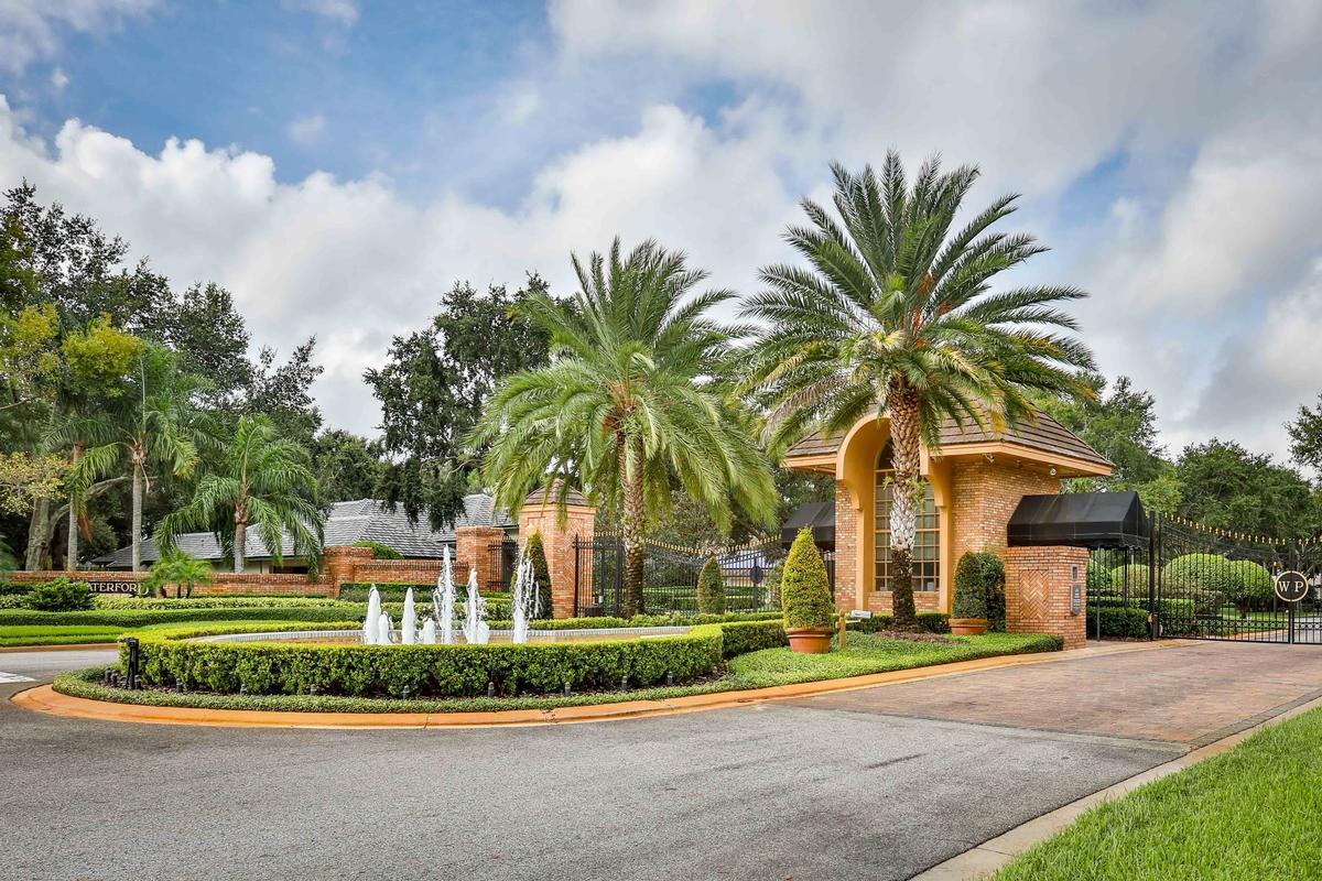 Mansions Exclusive gated community in windermere