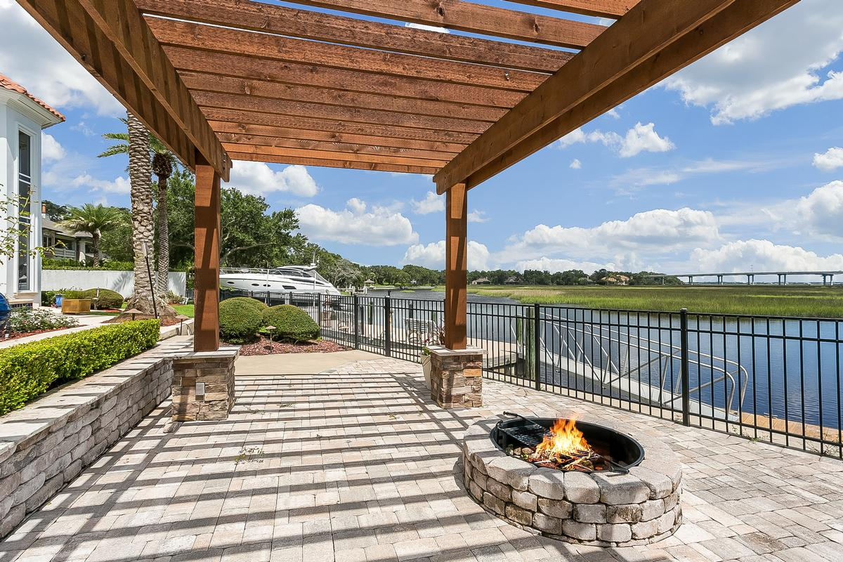 Amazing waterfront estate home with dock luxury homes