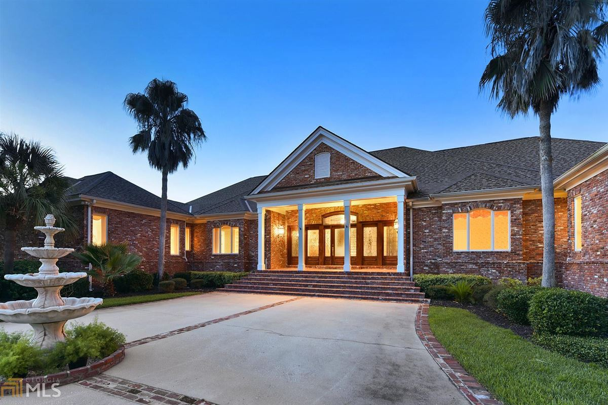 Majestic Waterfront Estate in St. Marys, GA luxury real estate