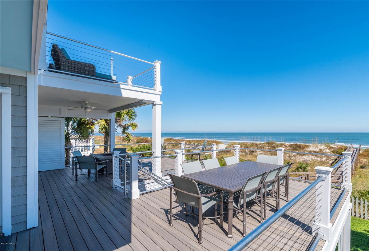 Cedar shake coastal oceanfront home  luxury real estate