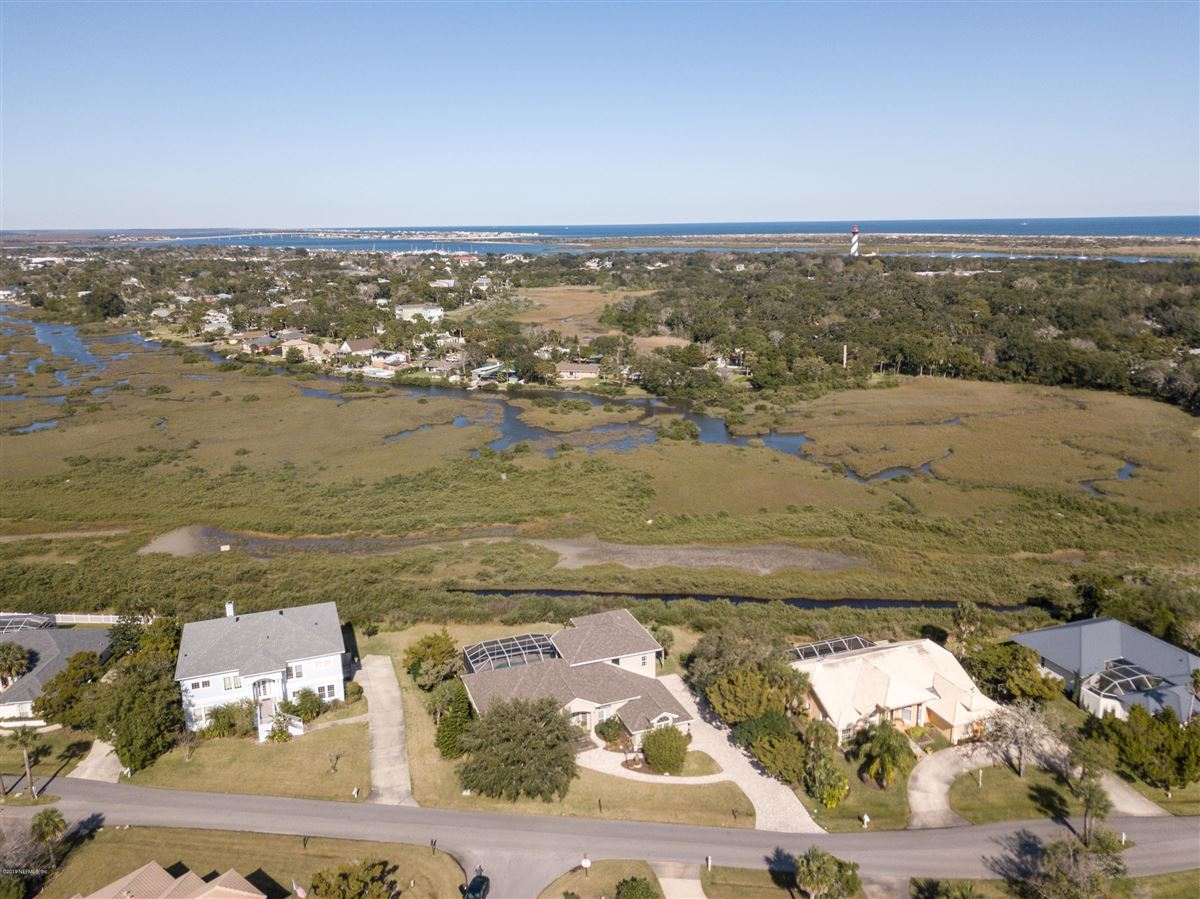 Luxury homes in open layout with magnificent intracoastal views