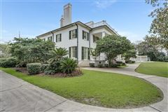 Luxury real estate iconic riverfront estate home