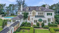 Mansions in iconic riverfront estate home