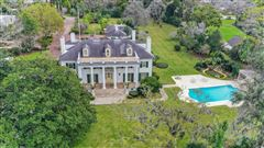 Luxury homes iconic riverfront estate home