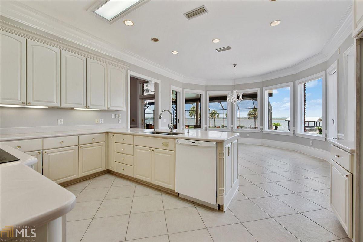 Luxury real estate private riverfront retreat