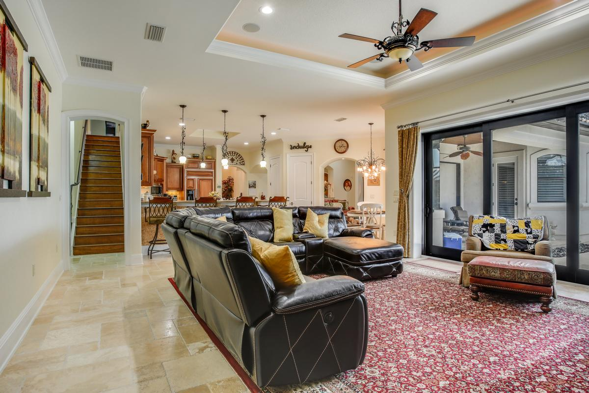 Luxury properties Stunning gated, Mediterranean custom built home