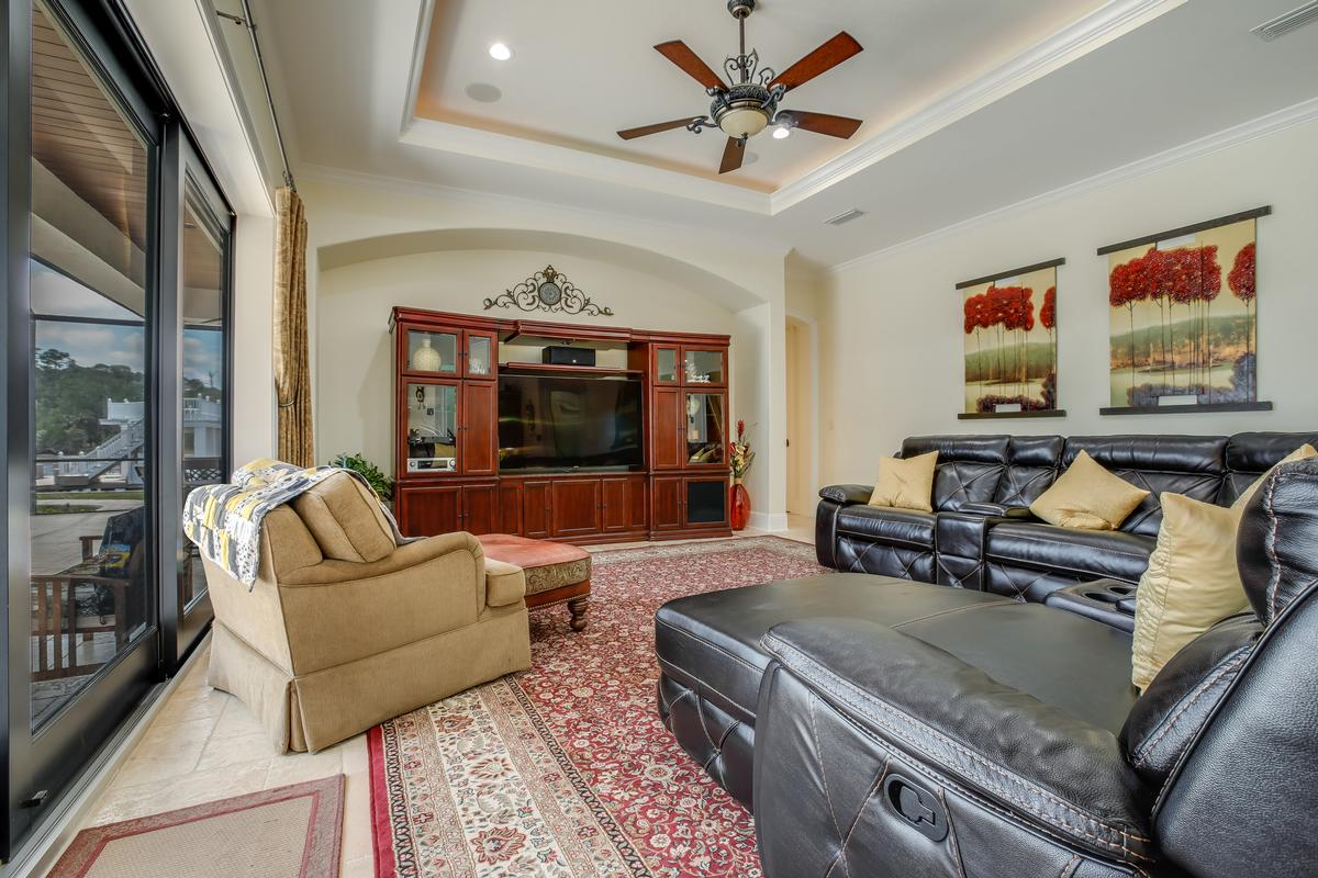 Luxury real estate Stunning gated, Mediterranean custom built home