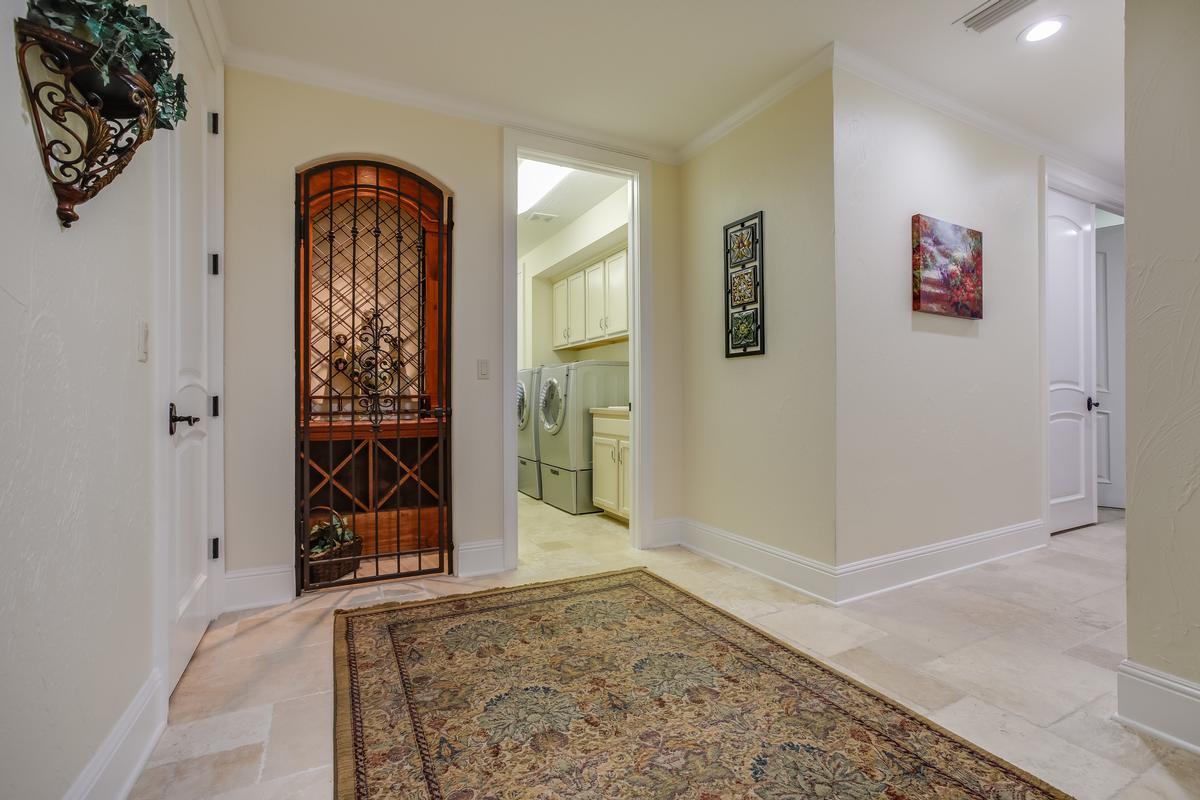 Mansions Stunning gated, Mediterranean custom built home