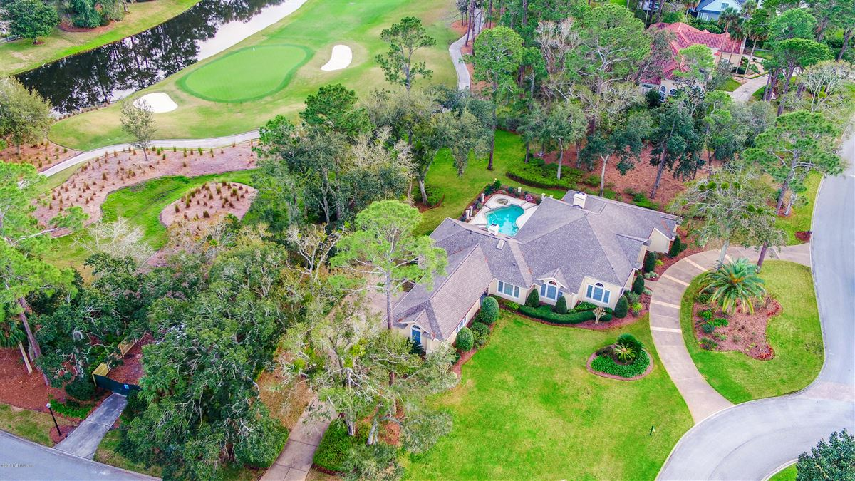beautiful lush landscaping surrounds this grand home luxury properties