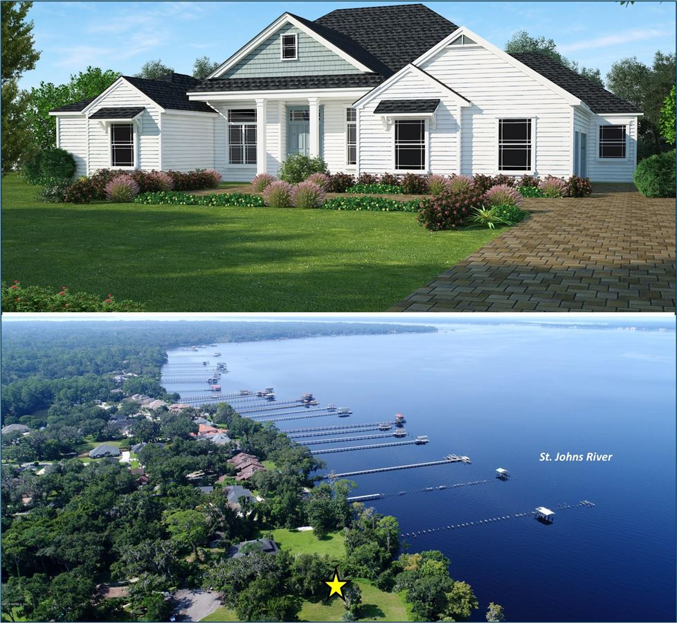 Mansions in Beautiful energy efficient home on amazing riverfront lot