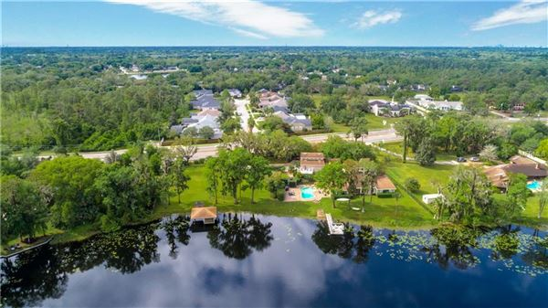 Mansions in Unbelievable lakefront home on over 2 acres