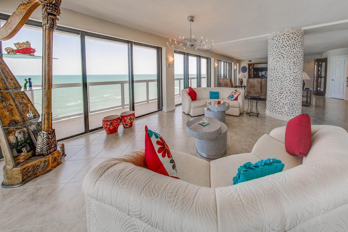 Stunning 360° Daytona Beach and ocean views luxury real estate