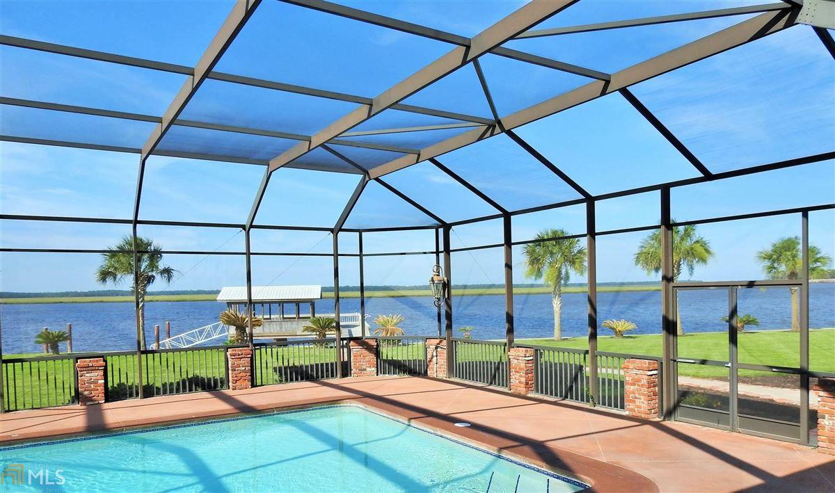 Luxury real estate Majestic Waterfront Estate in St. Marys, GA