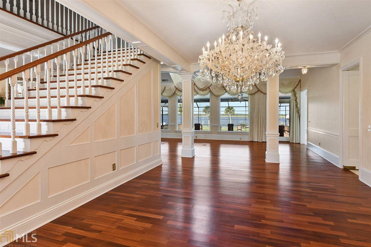 Luxury homes in Majestic Waterfront Estate in St. Marys, GA