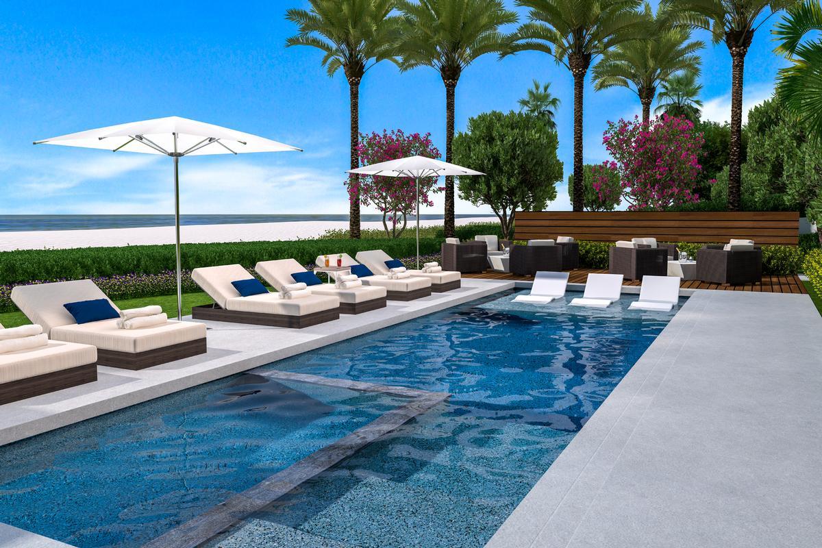Luxury homes oceanfront oasis