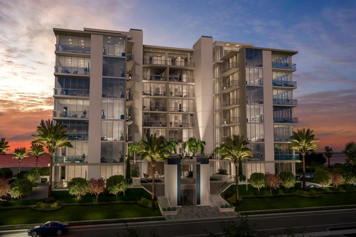 Luxury real estate oceanfront oasis